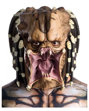 Predator Full Head Latex Mask For Adults