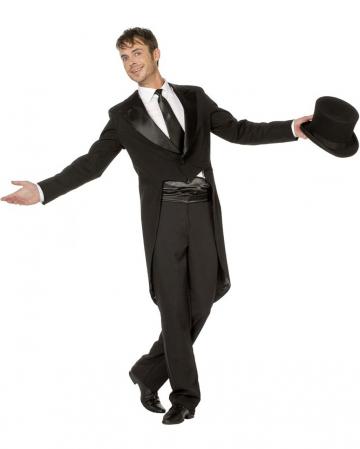 Premium Costume Tailcoat Men Black