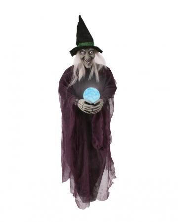 Psychic Witch mit Kristallkugel zum Aufhängen