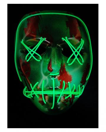 Psycho Killer LED Mask