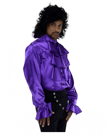 Purple Rain Kostüm Hemd