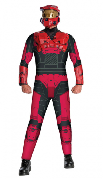 Red Spartan Outfit