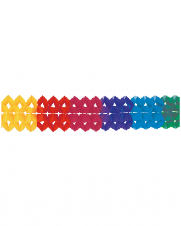 Rainbow Girlande Schwer Entflammbar 20x400cm
