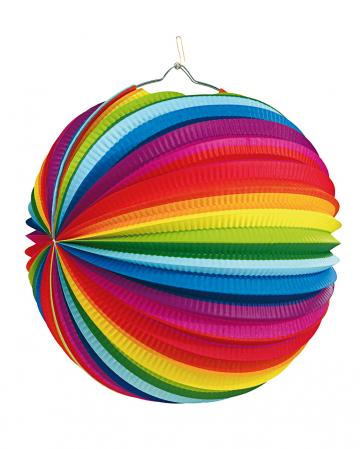 Rainbow Laterne 50cm schwer entflammbar