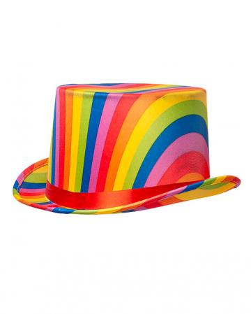 Rainbow Cylinder With Hatband
