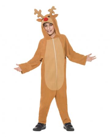 Elch Overall Kinder Kostüm