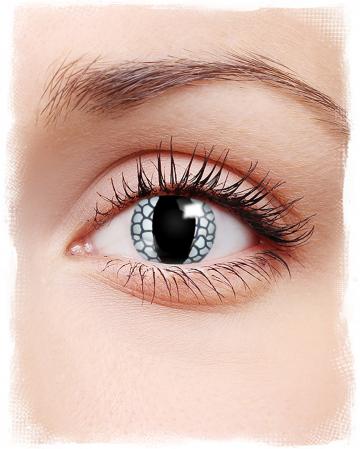 White Dragon Eye Contact Lenses