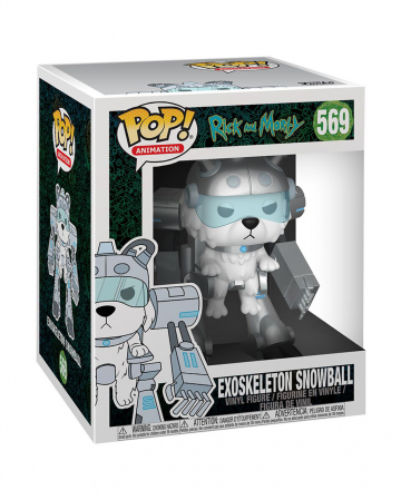 Rick And Morty Exoskeleton Snowball Funko POP!