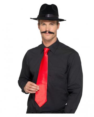 Red Gangster Tie Deluxe
