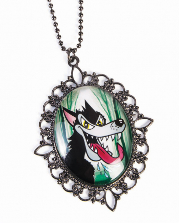 Little Red Riding Hood Necklace Bad Wolf