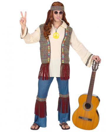 San Francisco Hippie Herrenkostüm