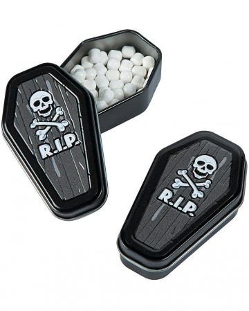 Coffin Box With Mint Pastilles 12 Pcs.