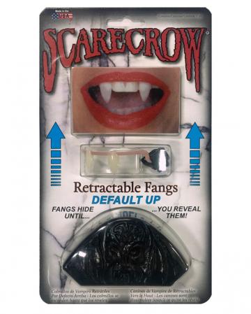 Scarecrow Einziehbare Vampir Zähne UP