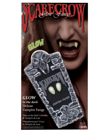 Scarecrow Vampire Teeth UV Active Small