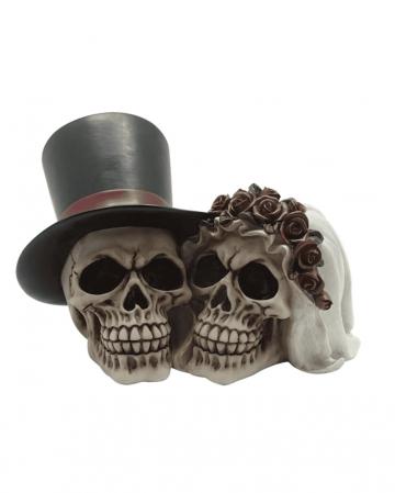 Wedding Couple Skull Decoration