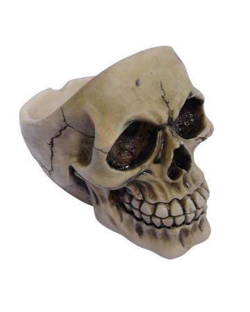 Aschenbecher Totenschädel