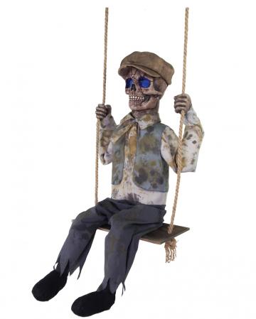 Schaukelnder Skelett Boy Animatronic
