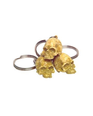 Keychain Rotten Skull 12 Pcs.