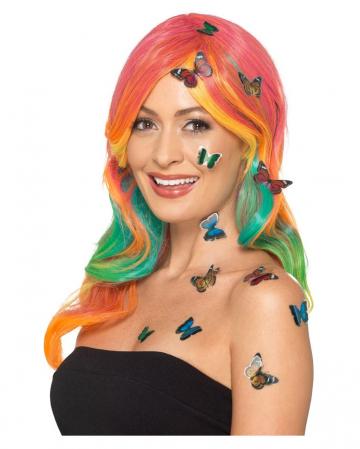 12 Schmetterling 3D Sticker