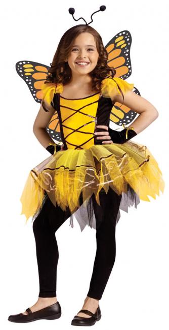 Schmetterlingsballerina Gelb