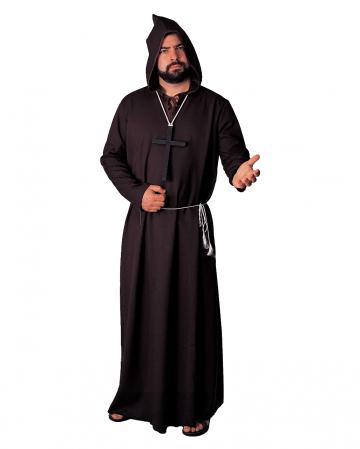 Schwarze Mönchsrobe Deluxe