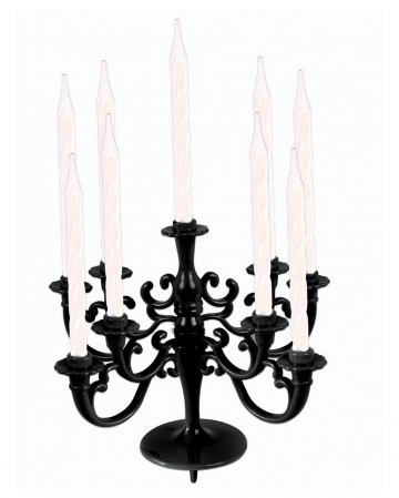 Black Candle Holder For Cakes & Tarts