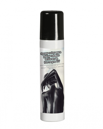 Black UV Spray For The Body 75 Ml
