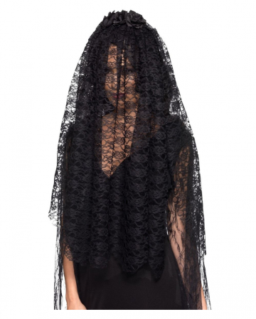 Black Widow Lace Veil