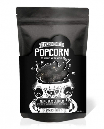 Black Pitch Cookie Popcorn