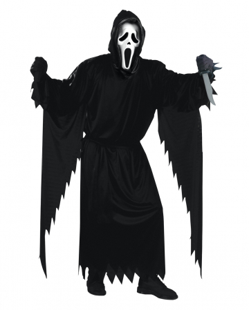 Scream Costume With Mask