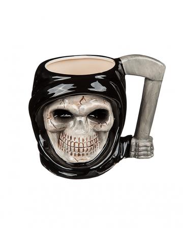 Grim Reaper Ceramic Cup