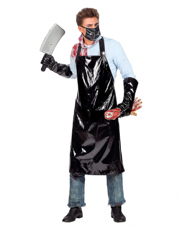 Serial Killer Apron With Gloves