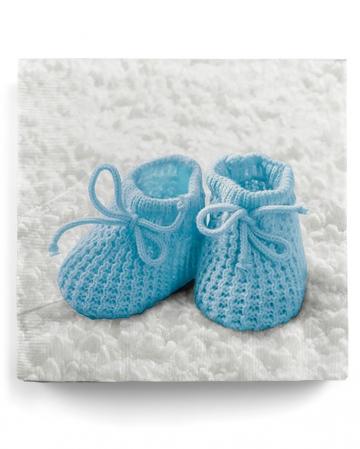 Napkins Baby Shoes Baby Boy 20 Pcs.