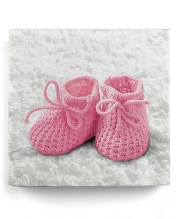 Napkins Baby Shoes Baby Girl 20 Pcs.