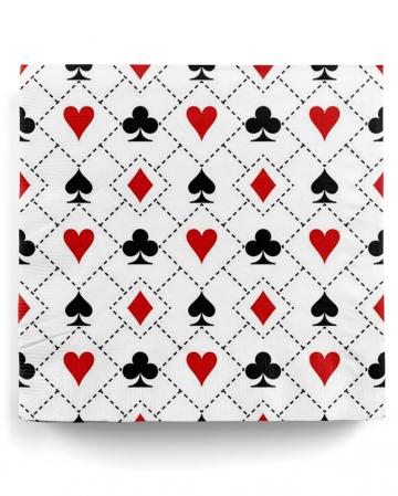 Napkins Casino Party 20 St.