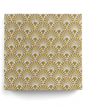 Napkins Elegance Art Deco Gold 15 Pcs.