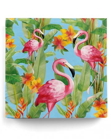 Servietten Pink Flamingos 20 St.