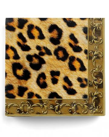 Leoparden Servietten 20 St.