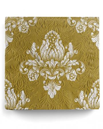 Napkins Luxury Barok Gold 15 Pcs.