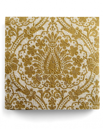 Napkins Luxury Ornament gold-beige 15 pcs.