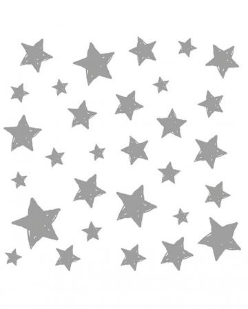 Napkins silver stars 20 pcs.