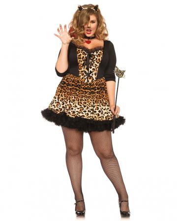 Sexy Raubkatze Plus Size Kostüm