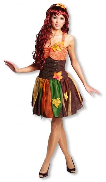 Sexy Herbst Fee Kostüm