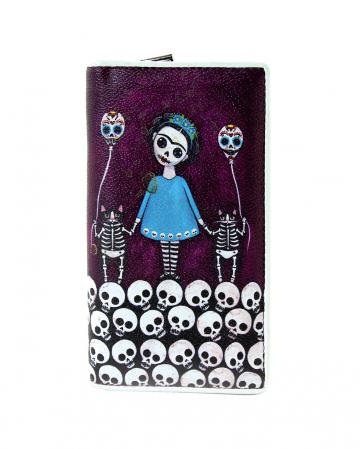 Skeleton Girl Brieftasche