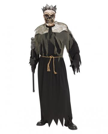 Skeleton King Costume One Size