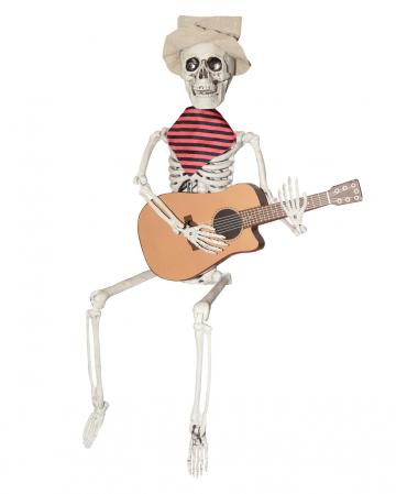 Gitarre Zupfendes Skelett 60cm