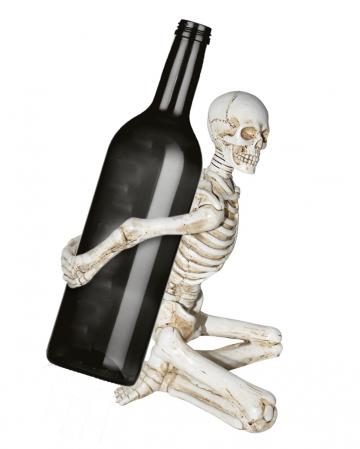 Knochengerippe Flaschenhalter