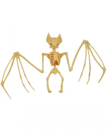 Fledermaus Skelett Deko 27cm