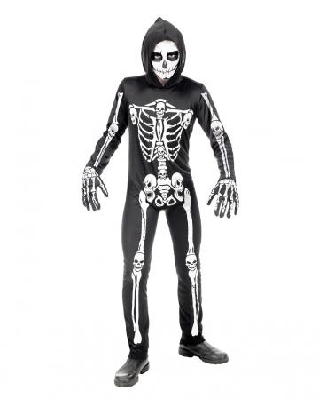 Skelett Overall Kinderkostüm