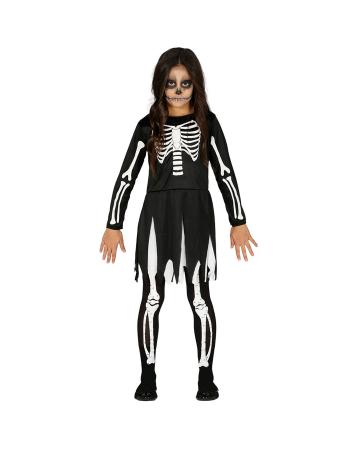 Knochen Mädchen Kinder Kostüm